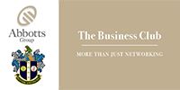 Abbotts group, the business club, logo